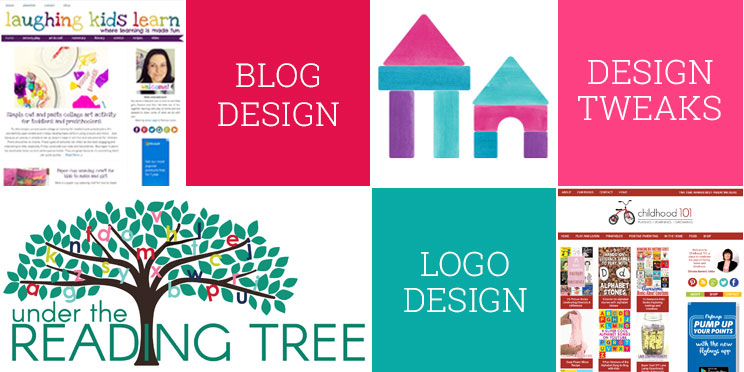 Get a new blog designs, a custom logo or just a few tweaks